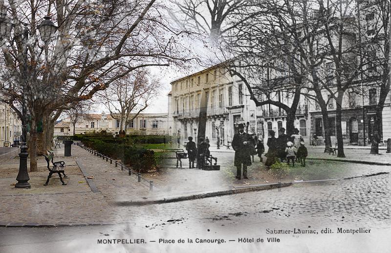 Montpellier place de la canourgue - La compagnie des comptoirs montpellier ...