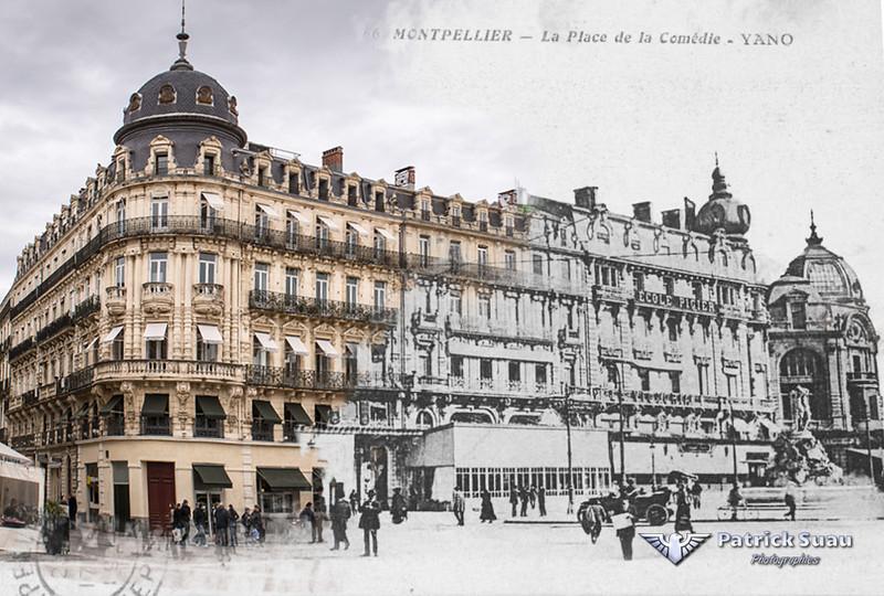 Montpellier place de la com die 1 for Maison de la literie montpellier